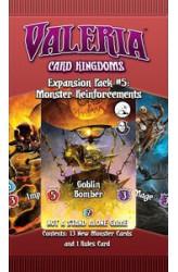 Valeria: Card Kingdoms – Expansion Pack #05: Monster Reinforcements