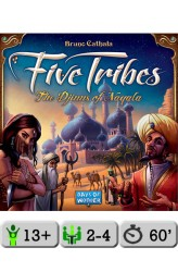 Five Tribes + Essen Promokaart Dhenim