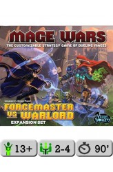 Mage Wars Arena: Forcemaster vs. Warlord