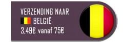 Verzending in België met bPost