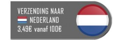 Verzending naar Nederland met PostNL