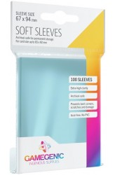 Gamegenic Sleeves: Soft Sleeves Pack 67x94mm (100)