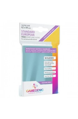 Gamegenic Sleeves: Prime Standard European 62x94mm (50)