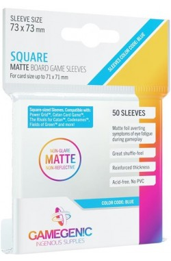 Gamegenic Sleeves: Matte Square 73x73mm (50)