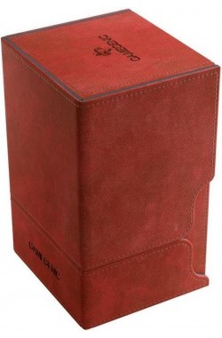 Gamegenic Deckbox: Watchtower 100+ Convertible Red