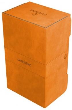 Gamegenic Deckbox: Stronghold 200+ Convertible Orange
