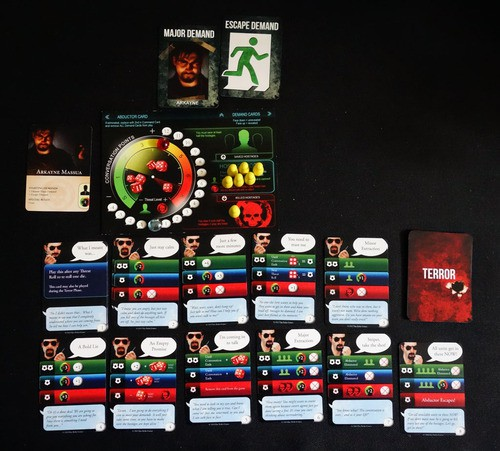 Hostage Negotiator | Board Game | BoardGameGeek