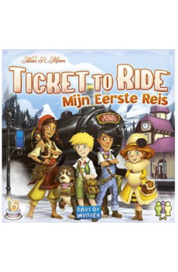 Ticket to Ride: Mijn Eerste Reis