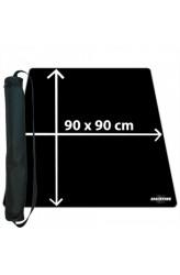 Blackfire Ultrafine Playmat - zwart 90x90cm - met draagtas