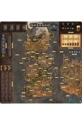 A Game of Thrones (2nd Edition): Mother Of Dragons Deluxe Playmat