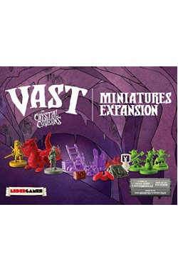 Vast: The Crystal Caverns - Miniatures Expansion