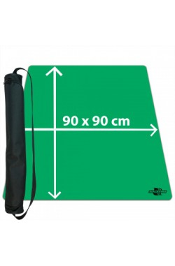 Blackfire Ultrafine Playmat - groen 90x90cm - met draagtas