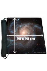 Blackfire Ultrafine Playmat - Space 90x90cm - met draagtas