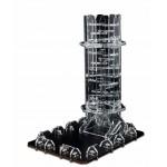 Blackfire Dice Tower - Crystal Twister