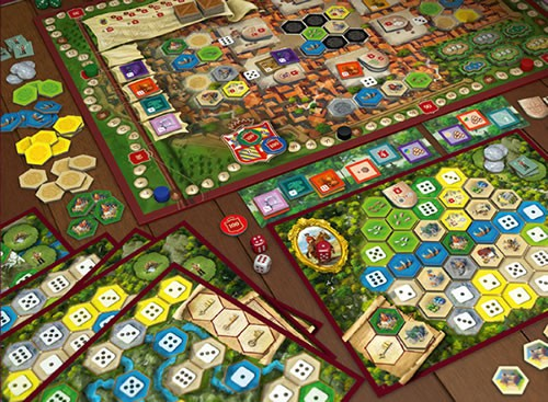 The Castles Of Burgundy With Expansions