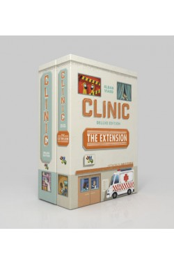 Preorder - Clinic: Deluxe Edition + the Extension [CEO Kickstarter versie] [verwacht december 2019]