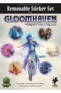 Gloomhaven Forgotten Circles Removable Sticker Set