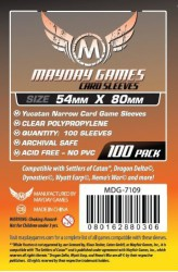 Mayday Yucatan Sleeves (54x80mm) - 100 stuks