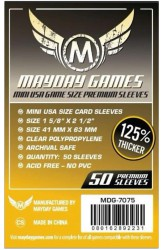 Mayday Mini American Sleeves Premium (41x63mm) - 50 stuks