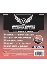 Mayday Square Sleeves Premium (80x80mm) - 50 stuks