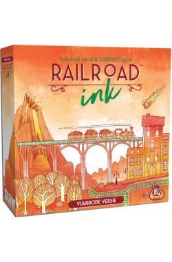 Railroad Ink: Vuurrode Editie