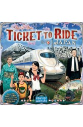Preorder - Ticket to Ride Map Collection: Volume 7 – Japan and Italy (verwacht november 2019)