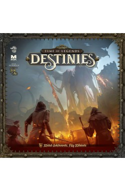 Preorder - Time of Legends: Destinies [King Pledge Kickstarter] [verwacht september 2020]