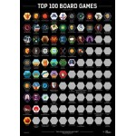 Scratch-Off Poster Board Games Top 100