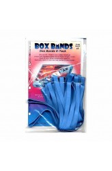 Box Bands: Large (6-Pack) - blauw