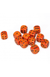 Chessex Dobbelsteen 16mm Speckled Fire