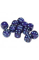 Chessex Dobbelsteen 16mm Speckled Cobalt with Blue