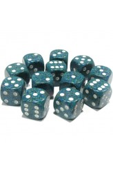Chessex Dobbelsteen 16mm Speckled Sea
