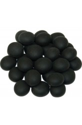 Chessex Glass Gaming Stones - Frosted Black