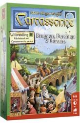Carcassonne: Uitbreiding 8 – Bruggen, Burchten en Bazaars