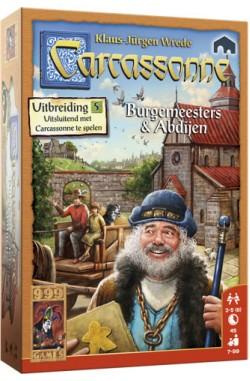 Carcassonne: Uitbreiding 5 – Burgemeesters en Abdijen