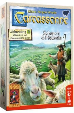 Carcassonne: Uitbreiding 9 – Schapen en Heuvels