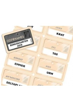 Codenames: bonuskaarten 2019 [NL]