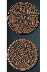 Legendary Coins: Cthulhu (Brons)