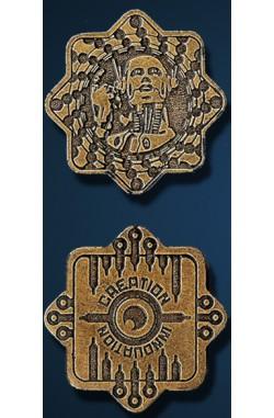 Legendary Coins: Sci Fi (Goud)