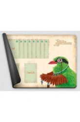 Dale of Merchants One Player Playmat - Green Magpie