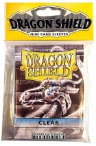 Dragon Shield Mini Clear Sleeves - 59x86mm