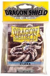 Dragon Shield Mini Clear Sleeves - 59x86mm