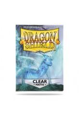 Dragon Shield Sleeves Matte Clear - 63x88mm