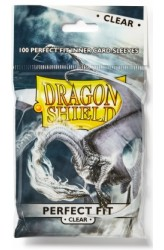 Dragon Shield Sleeves Perfect Fit Clear - 63x88mm