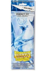 Dragon Shield Sleeves Perfect Fit Clear Sealable - 63x88mm