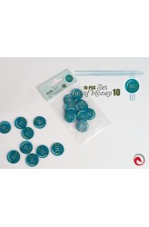 e-Raptor: 10-delige coin set - waarde 10