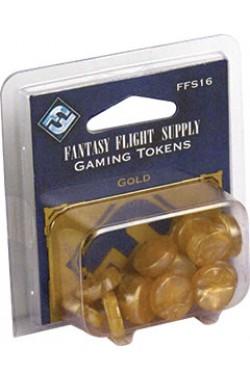 Fantasy Flight Gaming Tokens - Gold