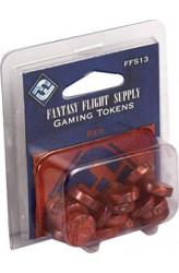 Fantasy Flight Gaming Tokens - Red