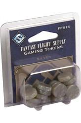 Fantasy Flight Gaming Tokens - Silver