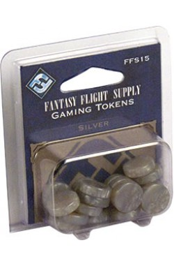 Fantasy Flight Gaming Tokens - Silver